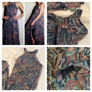 Dresses & Skirts - Full length boho dress with side slits